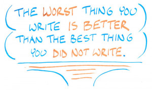 ... can you write more and improve your writing it doesn t matter if you