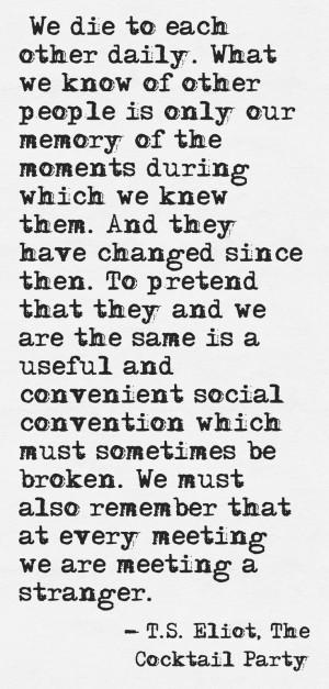 Eliot Quotes