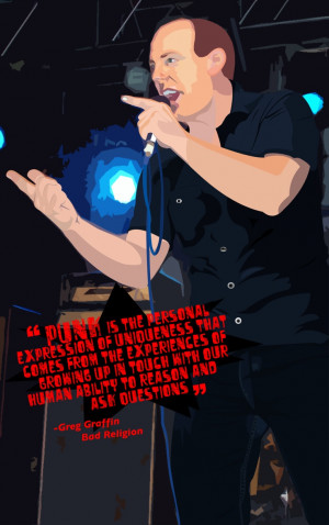 Greg Graffin - tha punk masta by ~Venty-Winduh on deviantART