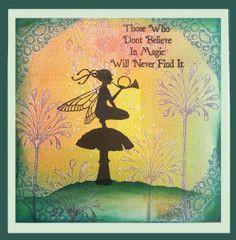 magic silhouettes cards mak faeries magic fairies quotes mystic magic ...