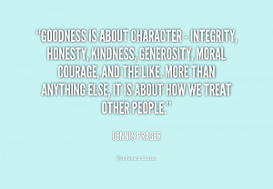 Honesty Character Integrity
