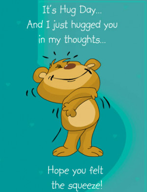 Happy Hug day 2014 Greetings , quotes and Pictures