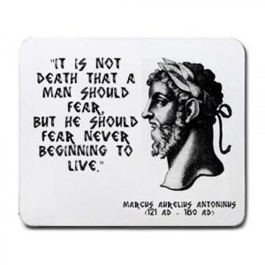 Marcus Aurelius Quotes: It is not death... Marcus #Aurelius Quote