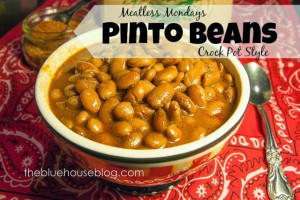 ... Comfort Food… my cheap and healthy PINTO BEANS. Best recipe ever