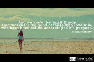 Bible Quotes Romans 8:28