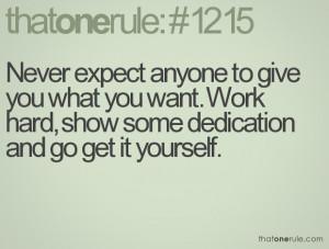 hard work dedication quotes