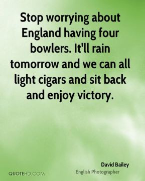 David Bailey - Stop worrying about England having four bowlers. It'll ...