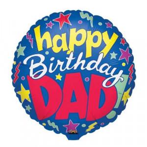 Birthday Balloons - Happy Birthday Dad