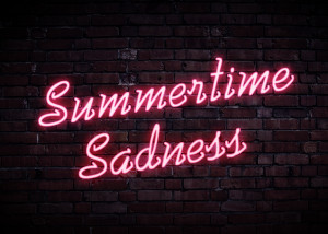 Del Rey and neon signs produced this little gem last night.Summertime ...