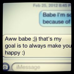 Sweet Text Messages For Him To Wake Up To Cute texts :) always make ...