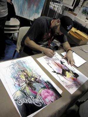 Alex Pardee's Sucker Punch Illustrations, And An Explanation Of What ...