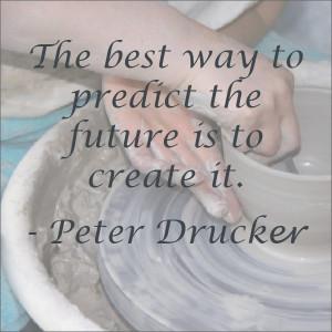 Peter Drucker quote -