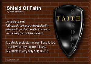 Shield Of Faith Photograph