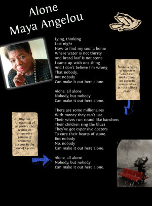 Maya Angelou: Alone
