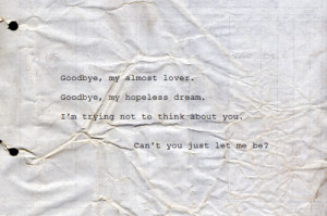 sad # song # song lyrics # song quote # typography # hurt # tears ...