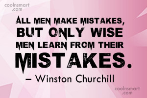 Mistake Quotes and Sayings - Page 5