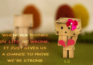 whenever things go wrong
