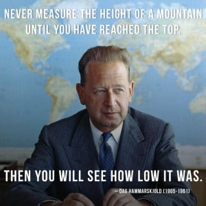 Dag Hammarskjold was a Swedish diplomat who unexpectedly became the ...