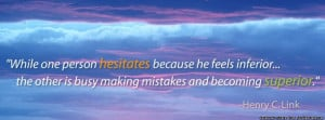 Inspirational Henry Link Quote . An Inspirational Quote by Henry Link ...