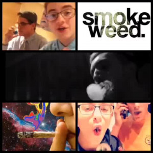 Jack Gilinsky and Jack Johnson Smoking