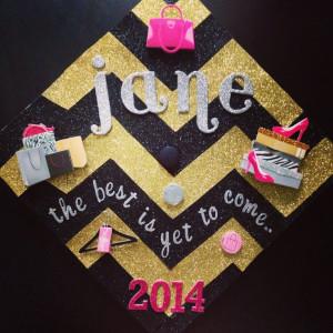 Graduation, Quotes Graduation, Chevron Graduation Cap, Writing Quotes ...