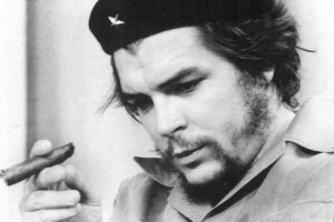 Ante la prensa. 1959. Las fotos corresponden a una entrevista del Che ...