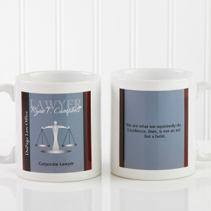 10218 - Legal Ease Personalized Quote Mug - small