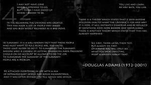 Quotes Douglas Wallpaper 1920x1080 Quotes, Douglas, Adams