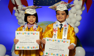 ... graduate is graduating from preschool kindergarten middle school high
