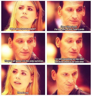 rose tyler & the 9th doctor