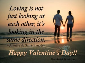 Valentines-quotes-about-love-Looking-same-direction