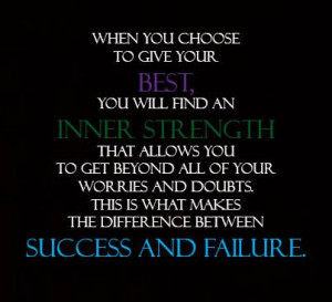 success #inner strength