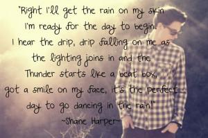 Shane Harpers Dancin In The Rain