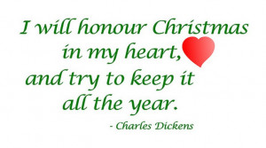 Holiday Quotes Christmas Charles Dickens
