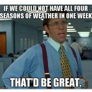 New England Weather Meme