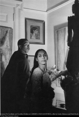 ... Carmen De Lavallade and Geoffrey Holder in Carmen and Geoffrey (2005