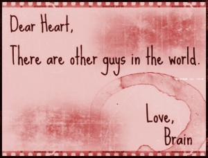 Brain Girls Guys Heart...