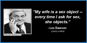 funny celebrity quotes les dawson