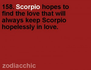 love being a Scorpio