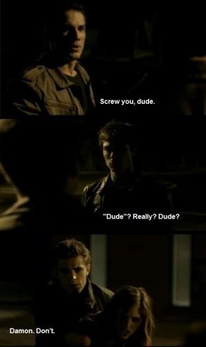Damon Salvatore Funny Ian Somerhalder The Vampire Diaries Vampires ...