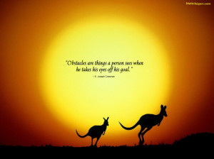 ... Inspirational Quotes About Life And The Struggles With Kangoroo