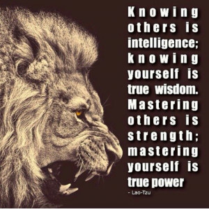 Intelligence, wisdom strength quotes