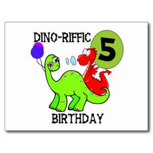 Dinosaur Birthday Shirts