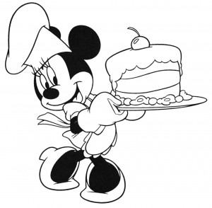 disney happy birthday coloring pages