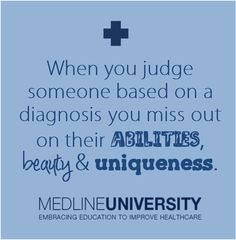 ... on their abilities, beauty, and uniqueness. #Nurses #Nursing #MedlineU