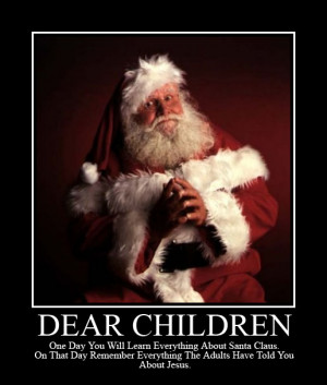 Is Santa Claus a Theological Threat?