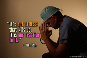 Inspirational Quotes > Hans Selye Quotes