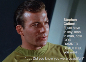 Stephen Colbert Interviews William Shatner: The Recap
