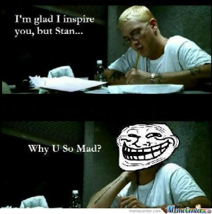 Eminem Trolling Before It Was Cool...