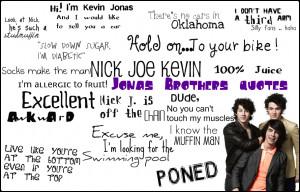 The Jonas Brothers Jonas Brothers quotes